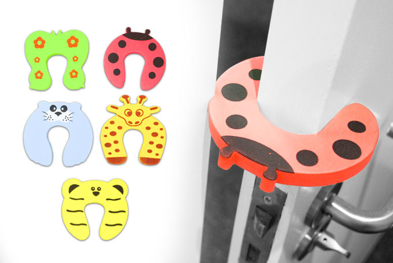 £4.99 instead of £9.98 (from Toy Meets World) for ten animal door stoppers - save 50%