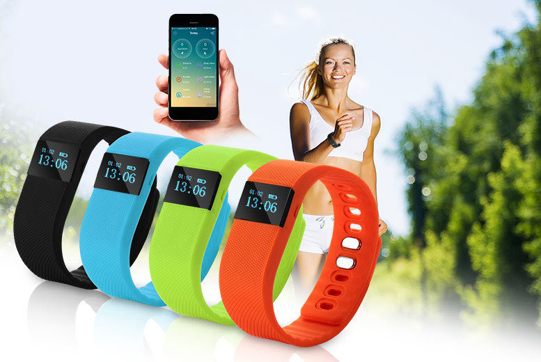 £14.99 instead of £56 (from Xpress Buyer) for a TW64 smart Bluetooth fitness bracelet - choose from four colours and save 73%
