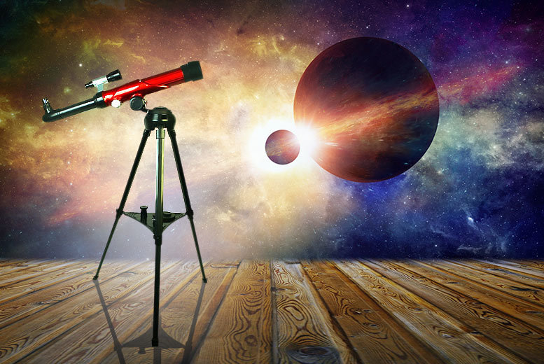 Kids' Telescope with Tripod – Up To 40x Magnification! for £19.99