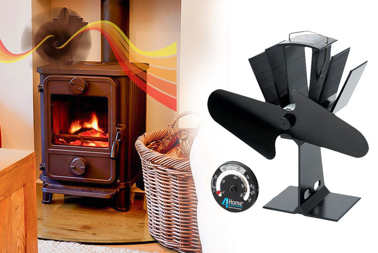 Eco-Friendly Heat Powered Stove Fan for £29