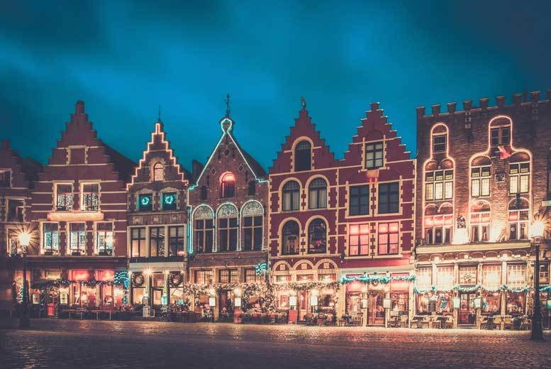 London: Bruges Christmas Market Day Trip & Return Coach – 3 Dates! for £49