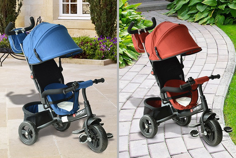 Baby Ride On Tricycle – 4 Designs! from £39
