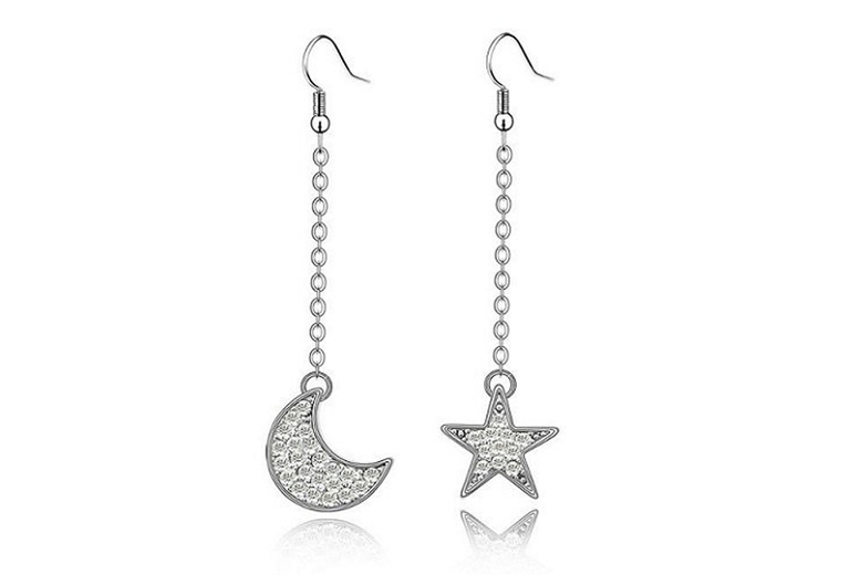 Moon & Star Earrings for £7