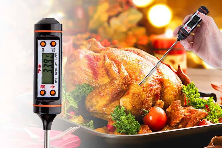 Digital Food Thermometer for £3.99