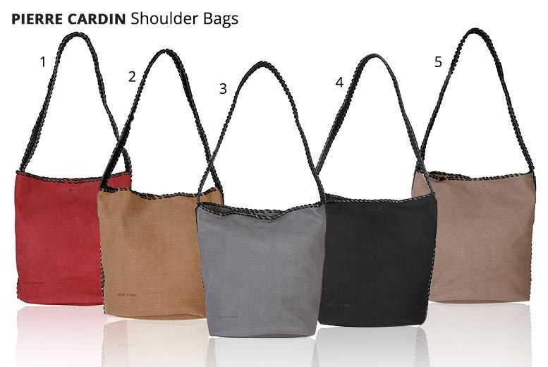 Pierre Cardin Ladies' Handbag – 9 Designs! from £25