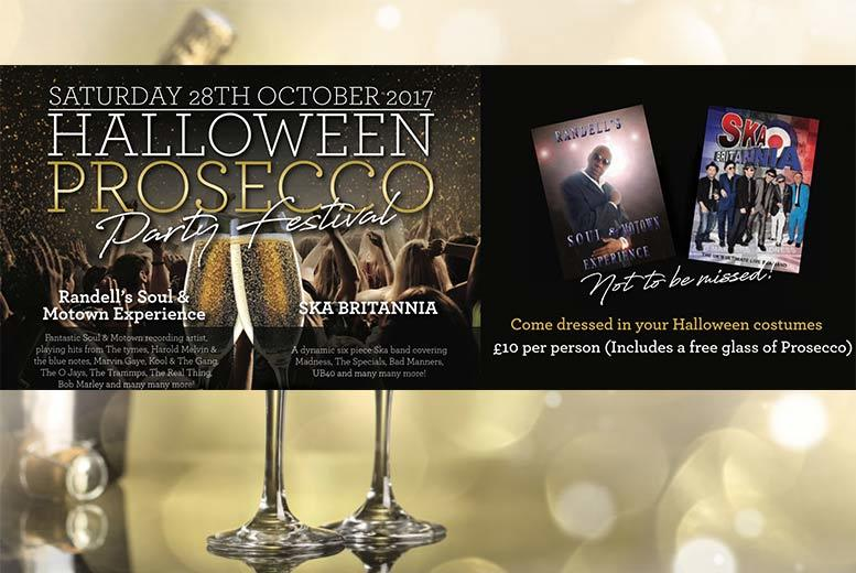 Nottingham: Halloween Prosecco Party Festival for £10
