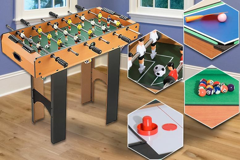 4 in 1 Multi Game Table for £59