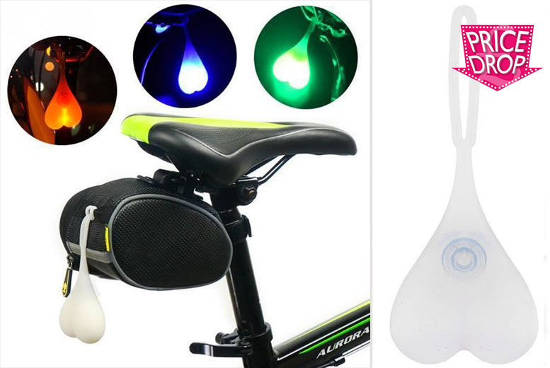 LED Bike Balls Tail Light – 3 Colours! from £3.99