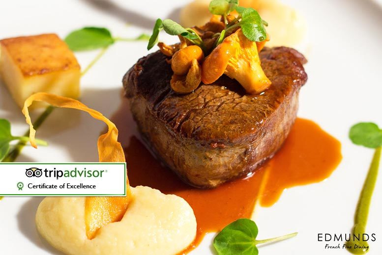Birmingham: 2 or 3-Course French Fine Dining for 2 @ Edmunds, Birmingham from £35