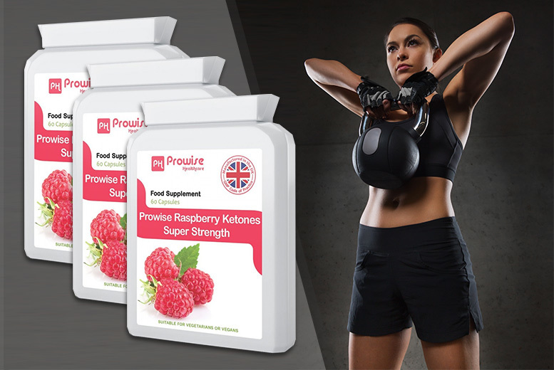 Prowise 'Super-Strength' Raspberry Ketones – 1mth or 3mth supply*! from £8