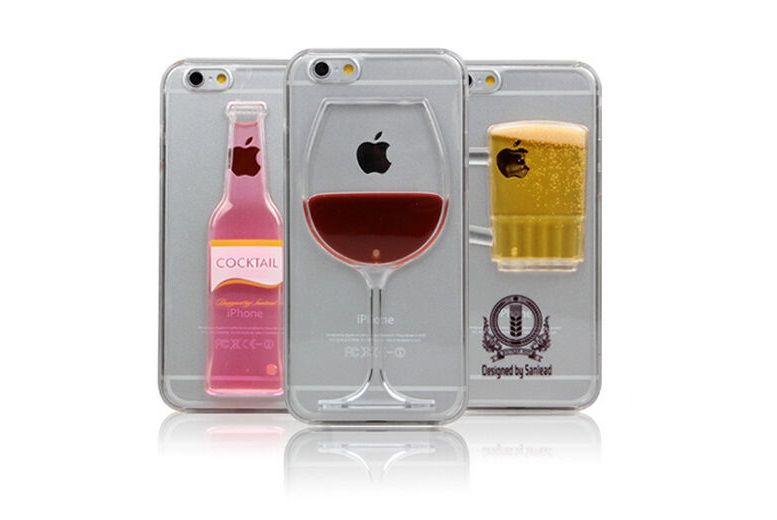 Liquid Alcohol iPhone Case – 3 Designs! for £3.99