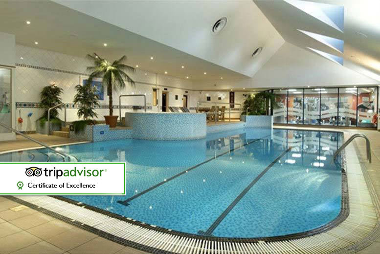 Derby: Hilton Hotel Leisure Day Pass & Sparkling Afternoon Tea for 2, 4 or 6 from £29