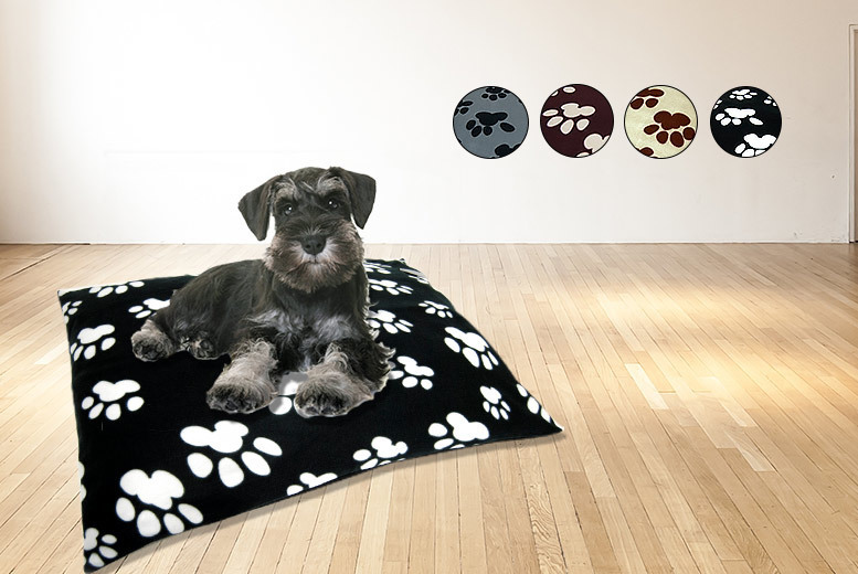 Large Pet Bed – 4 Colours! from £7.99