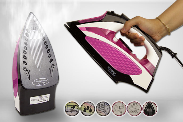 2000W Easy Grip Corded Steam Iron for £15