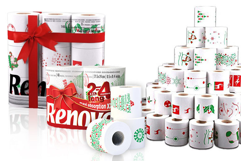 The Best Deal Guide - Christmas Toilet Paper & Kitchen Roll Bundle