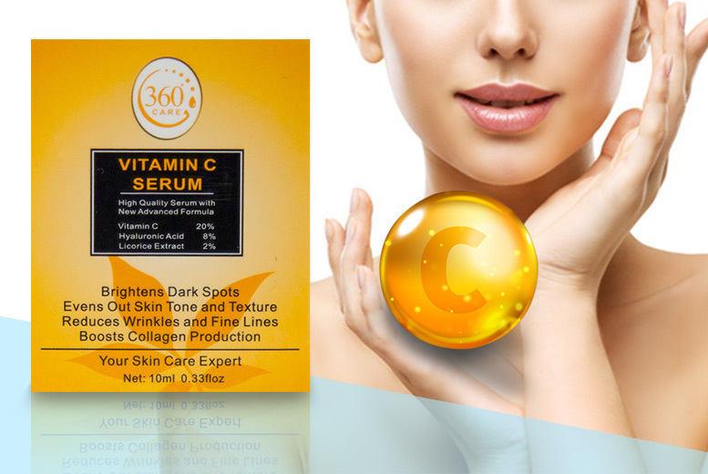 2 Vitamin C 'Anti-Ageing' Serums for £9.99