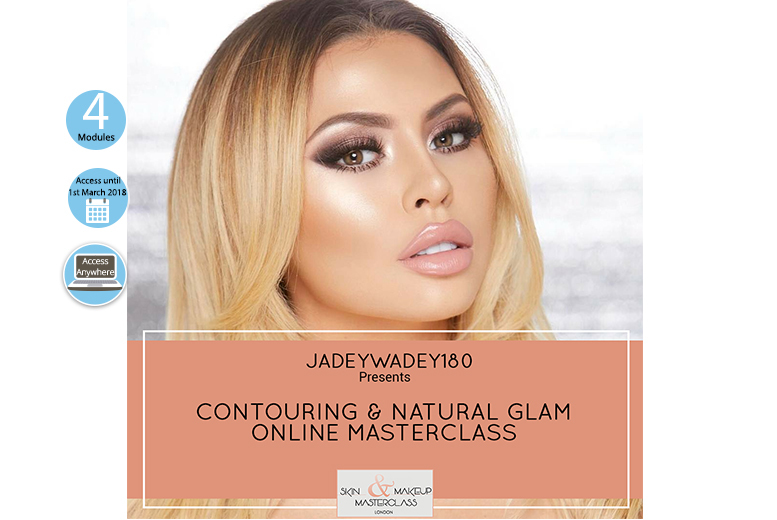 Online Skin & Makeup Video Masterclass with Celebrity Makeup Artist Jade Marie for £9.95