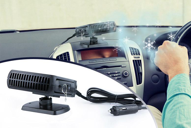 Portable Car Cooler Fan for £7.99