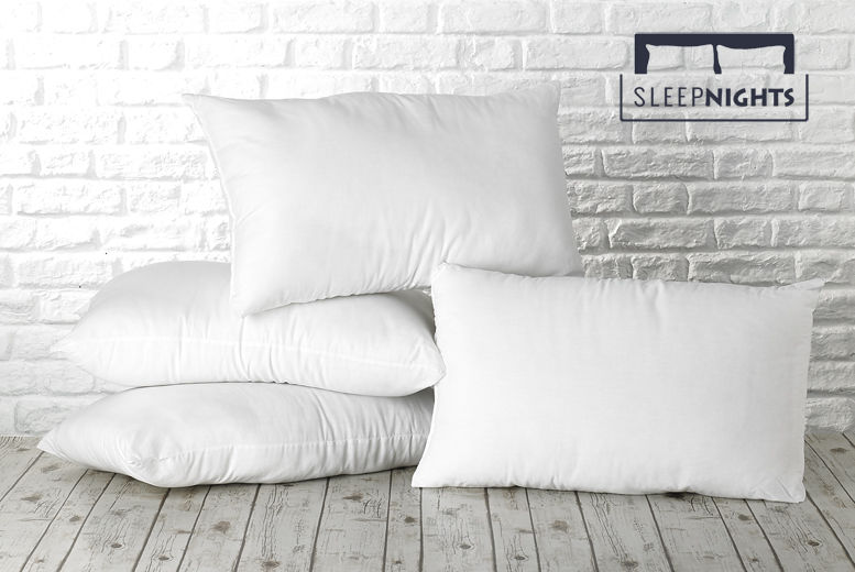 4 Soft Touch Pillows for £8.99