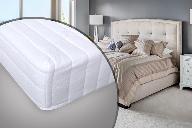 Cooltouch Comfort Firm Memory Foam Mattress