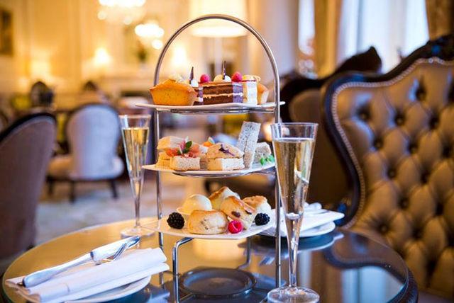 Afternoon Tea Grosvenor Hotel Victoria London