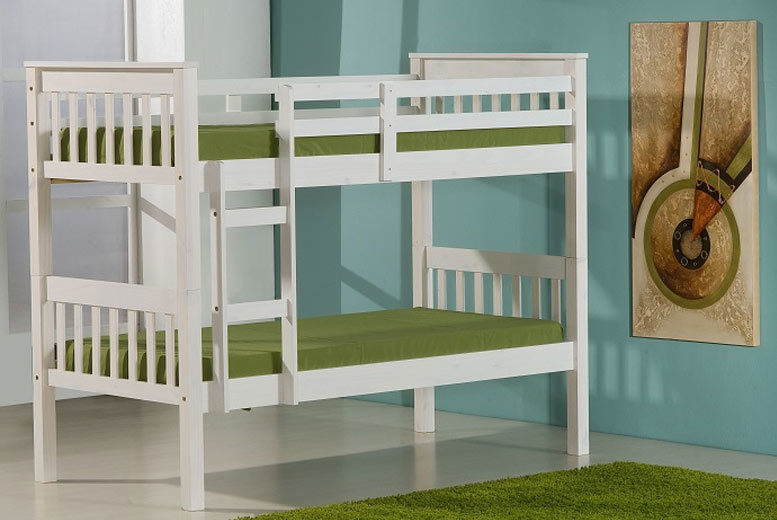 White Pine Bunk Bed
