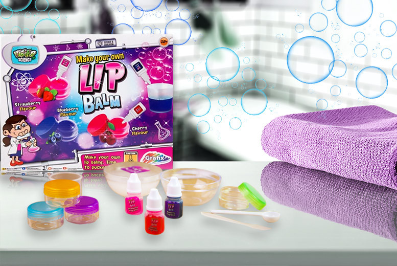 'Make Your Own Lip Balm' Kit for £8.99
