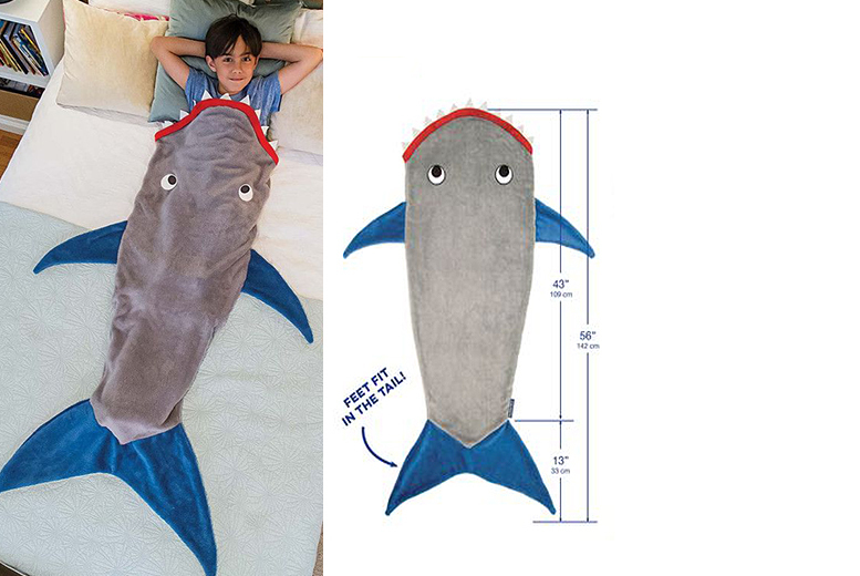 Kids' Shark Blanket for £9.99