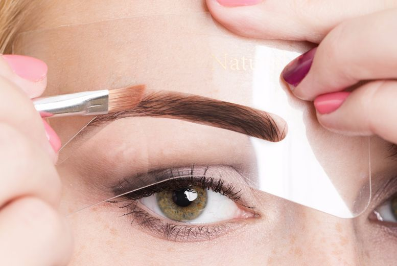 Eyebrow Stenciling Kit – 2 Tones! for £3.99