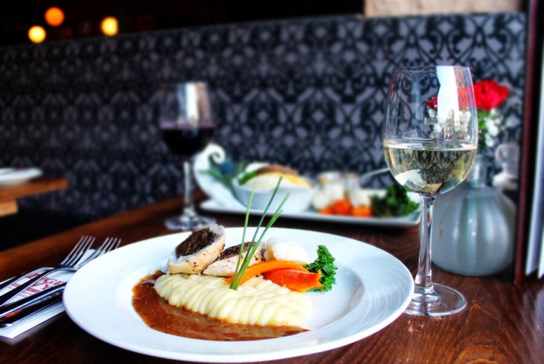 Glasgow: 3-Course Dining for 2 @ Ingram Wynd from £26