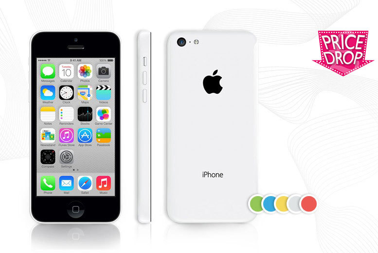 £154 instead of £219 (from EMS Tech) for a grade B refurbished unlocked 16GB iPhone 5c - choose from five fab colours and save 30%
