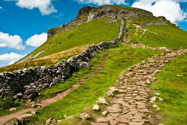 £29 instead of £55 for a guided Yorkshire Three Peaks Challenge walk with Alfresco Adventures - save 47%