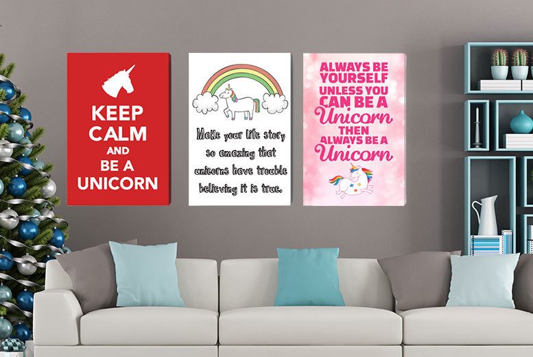 Unicorn Canvas – A4, A3  or A2! from £4.99
