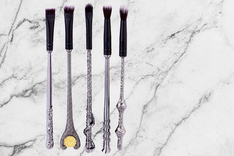 5pc Harry Potter-Inspired Makeup Brush Set for £5.99