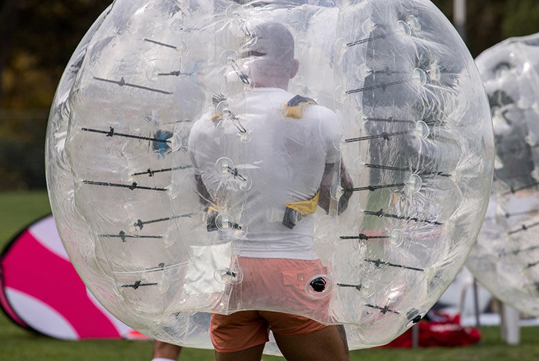 Liverpool: Bubble Football for 15, Liverpool for £149
