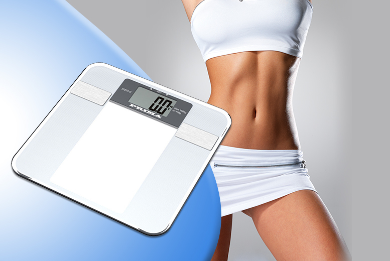 The Best Deal Guide - 6-in-1 Digital Body Fat Monitoring & Weighing Scales