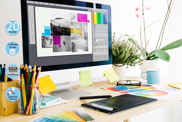 Creative Design Essentials 20-Course Bundle