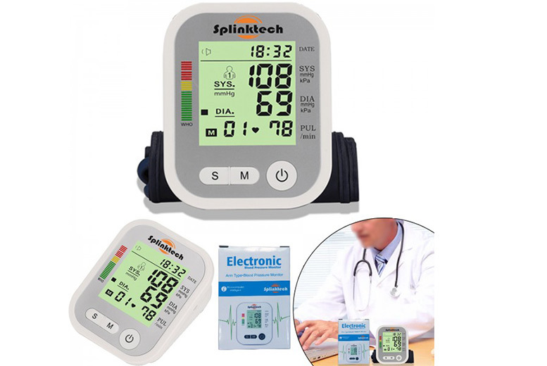 Blood Pressure Monitor for £15.99