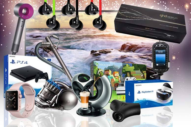 Mystery Gadget Deal – LG, Apple, VEHO, GHD, Sony & More! for £9