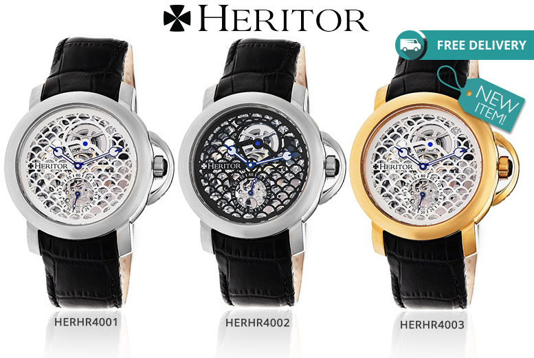 Men's Heritor 'McKinley' Automatic Watch