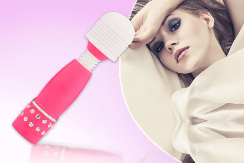 £7 instead of £39.99 (from Who Runs The World) for a mini magic love wand with adjustable speed settings - save 82%
