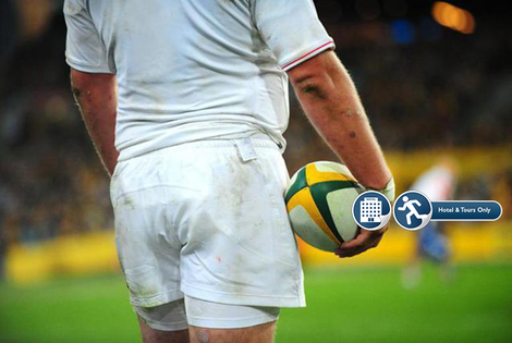 From £99pp (from World Choice Sports) for a Rugby Six Nations ticket and overnight stay in Dublin, Paris or Rome!