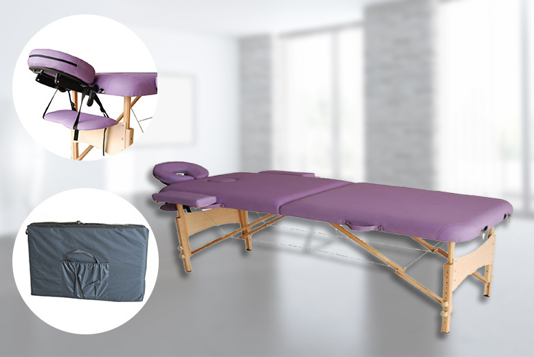 Folding Massage Table for £59
