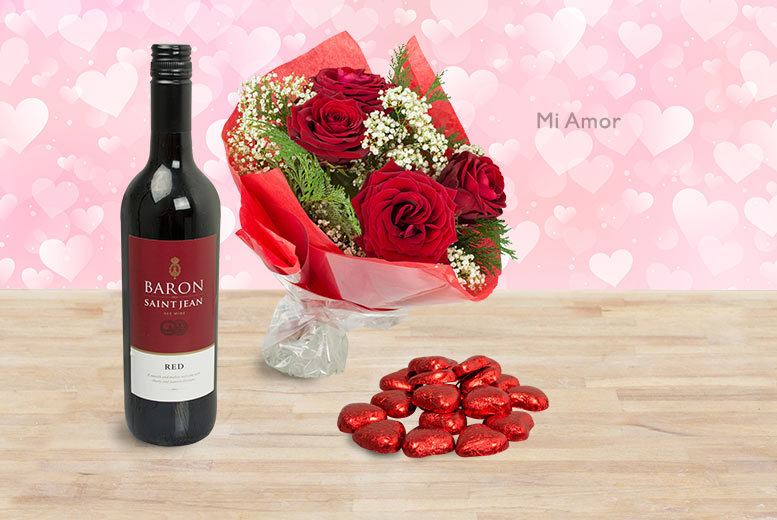 £9 for a Red Rose Illusion or Just For You rose box, £19.99 for Mi Amor roses, £29 for a Valentine's Bouquet or Red Passion roses from Cavani's Flowers - save up to 70%