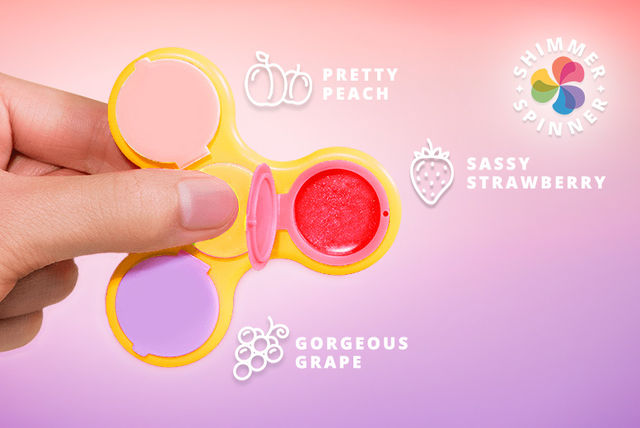 lip gloss fidget spinner