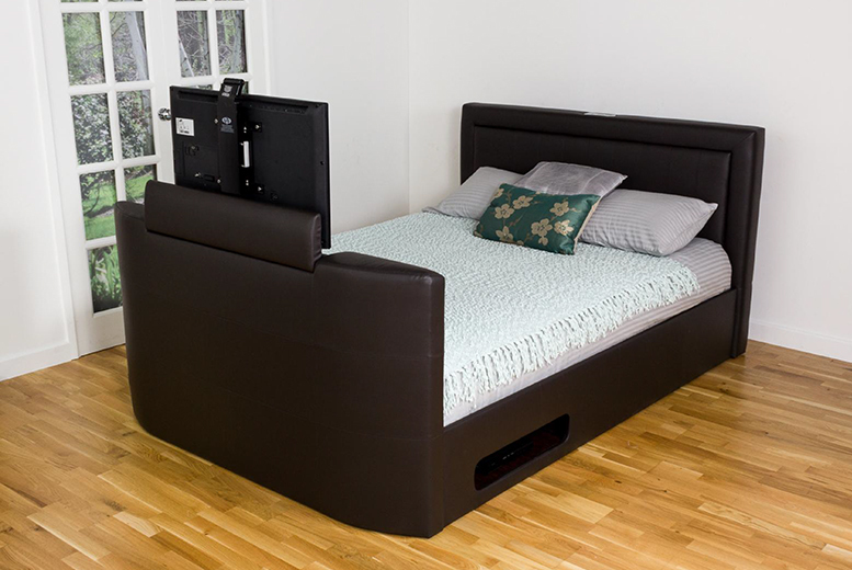 Stylish TV Beds With LED Flat Screens in All Bed Sizes ...