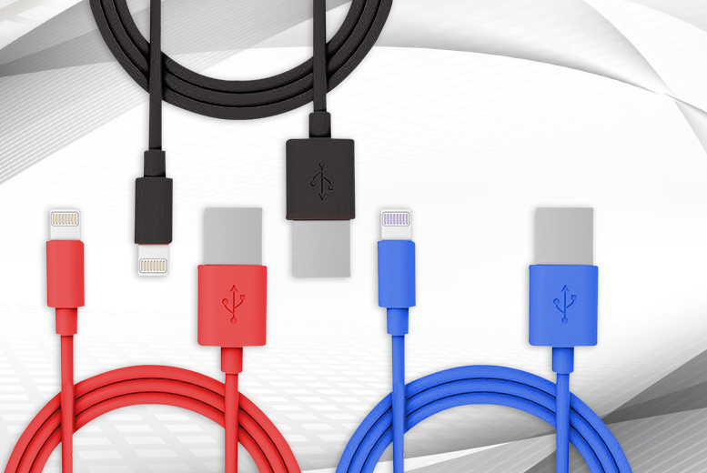 Apple USB Charging Cable - 3 Colours!