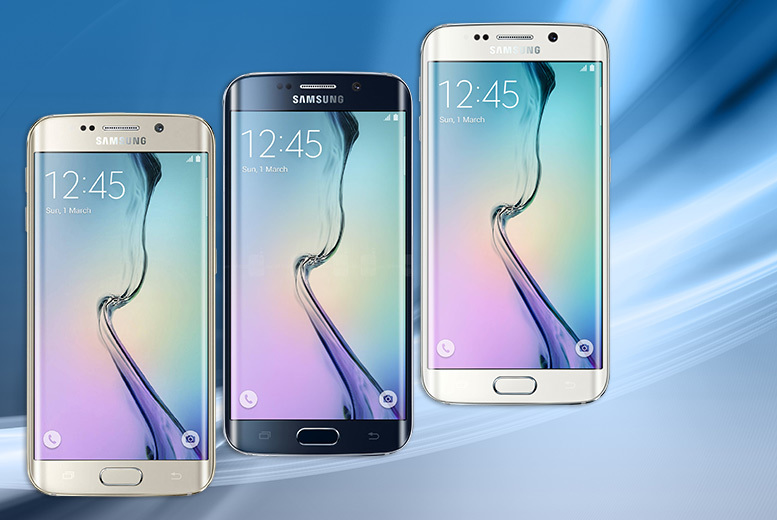 Samsung Galaxy S6 Edge 32GB + 4G Contract - 3 Colours!