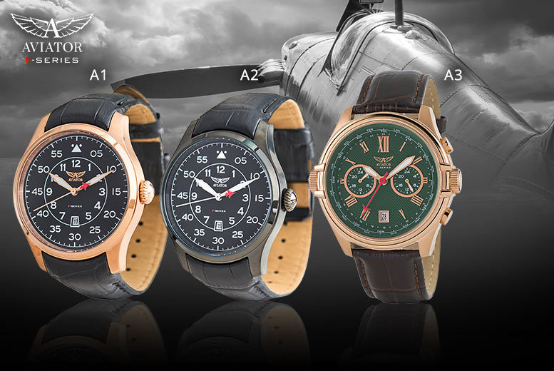 Aviator Watch - 12 Styles!