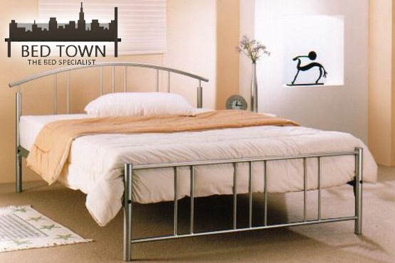 £84.50 instead of £169 for a luxury 'Christina' double bed frame, from Bed Town - have a great night's sleep and save 50%